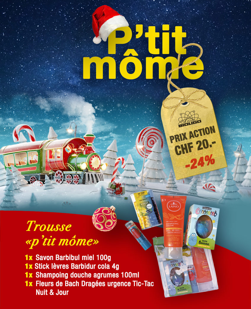 Trousse Noël «p'tit môme» Laboratoires Bioligo