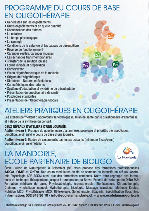 Formation Oligothérapie 2022 img-2